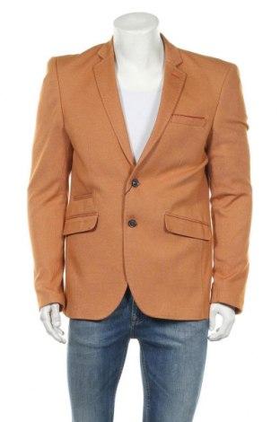 Мъжко сако Giorgio Di Mare, Размер M, Цвят Кафяв, 65% памук, 35% полиестер, Цена 48,95лв.
