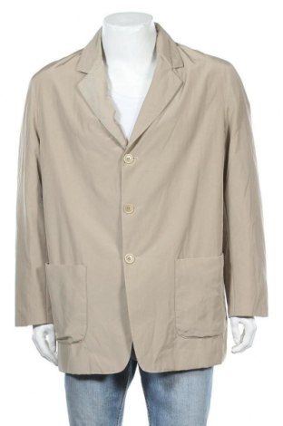 Мъжко сако Kathleen Madden, Размер L, Цвят Бежов, 54% памук, 46% полиамид, Цена 6,76лв.