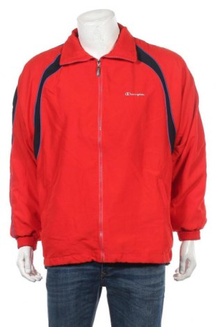 Ανδρική αθλητική ζακέτα Champion, Μέγεθος L, Χρώμα Κόκκινο, 80% βαμβάκι, 20% πολυεστέρας, Τιμή 17,28€