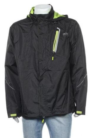 Мъжко спортно яке Crivit, Размер XL, Цвят Черен, Полиестер, Цена 26,46лв.