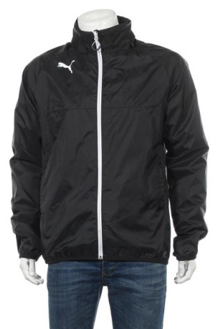 Ανδρικό αθλητικό μπουφάν PUMA, Μέγεθος L, Χρώμα Μαύρο, Πολυαμίδη, Τιμή 40,27€