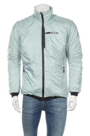 Мъжко яке Adidas, Размер L, Цвят Зелен, Полиестер, Цена 89,25лв.