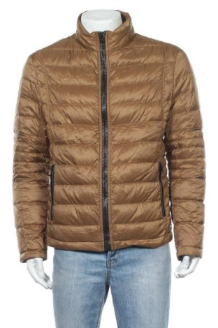 Pánská bunda  Boss, Velikost M, Barva Hnědá, Textile , peří, Cena  2060,00Kč