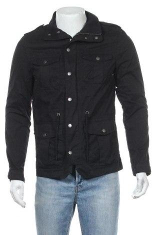 Мъжко яке H&M, Размер S, Цвят Черен, Памук, Цена 18,48лв.