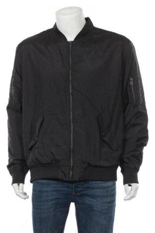 Мъжко яке H&M L.O.G.G., Размер XL, Цвят Черен, Полиамид, Цена 34,81лв.
