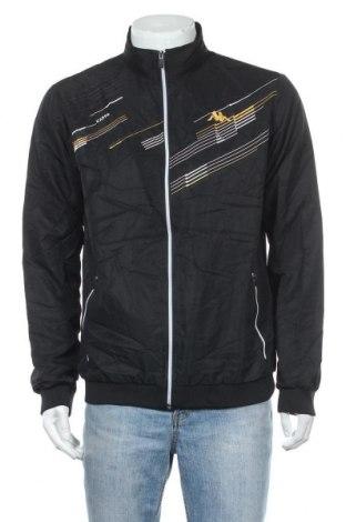 Ανδρικό μπουφάν Kappa, Μέγεθος L, Χρώμα Μαύρο, Πολυεστέρας, Τιμή 19,74€