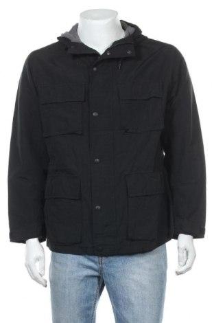 Мъжко яке Uniqlo, Размер XL, Цвят Черен, 61% памук, 39% полиамид, Цена 37,91лв.