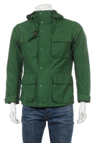 Мъжко яке Uniqlo, Размер M, Цвят Зелен, 61% памук, 39% полиамид, Цена 16,91лв.
