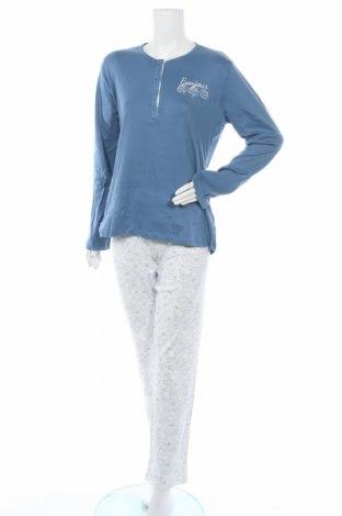 Пижама Cotonella, Размер L, Цвят Син, 100% памук, Цена 39,00лв.