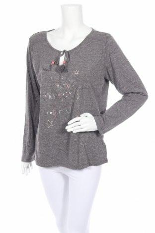 Пижама Etam, Размер XL, Цвят Сив, 50% полиестер, 38% памук, 12% вискоза, Цена 28,50лв.