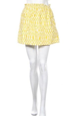 Пола H&M, Размер S, Цвят Жълт, Памук, Цена 6,04лв.