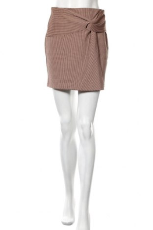 Пола H&M, Размер S, Цвят Кафяв, 98% памук, 2% еластан, Цена 29,25лв.