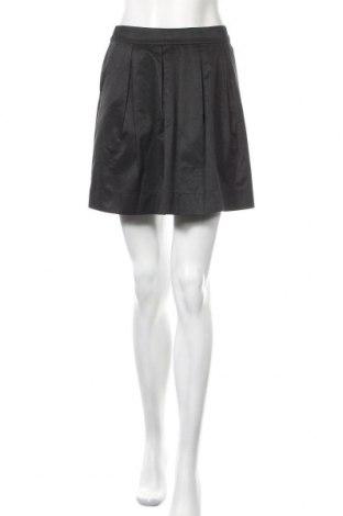 Пола H&M, Размер S, Цвят Черен, 50% памук, 40% полиестер, 10% полиамид, Цена 6,82лв.