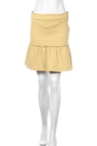 Φούστα Pieces, Μέγεθος M, Χρώμα Κίτρινο, Βαμβάκι, Τιμή 13,40€