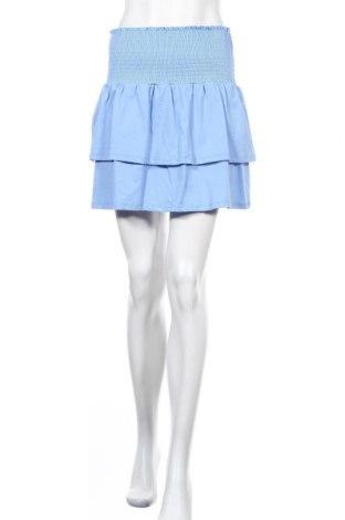 Φούστα Pieces, Μέγεθος M, Χρώμα Μπλέ, Βαμβάκι, Τιμή 13,40€