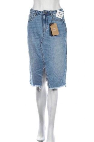 Φούστα Vero Moda, Μέγεθος S, Χρώμα Μπλέ, Βαμβάκι, Τιμή 12,16€