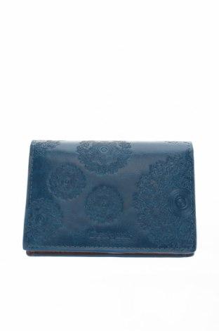Портмоне Desigual, Цвят Син, Еко кожа, Цена 53,72лв.