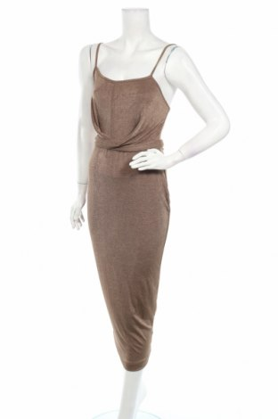 Φόρεμα Simple Wish, Μέγεθος S, Χρώμα Καφέ, Τιμή 9,90€