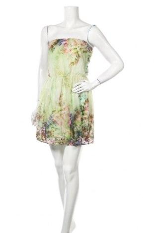 Рокля Zara Trafaluc, Размер M, Цвят Многоцветен, Полиестер, Цена 18,56лв.