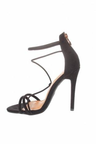 Σανδάλια Bebo, Μέγεθος 36, Χρώμα Μαύρο, Κλωστοϋφαντουργικά προϊόντα, Τιμή 20,63€