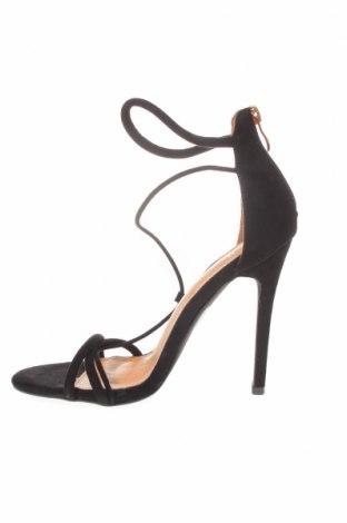 Σανδάλια Bebo, Μέγεθος 38, Χρώμα Μαύρο, Κλωστοϋφαντουργικά προϊόντα, Τιμή 20,63€