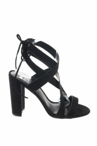 Σανδάλια Even&Odd, Μέγεθος 41, Χρώμα Μαύρο, Κλωστοϋφαντουργικά προϊόντα, Τιμή 17,64€