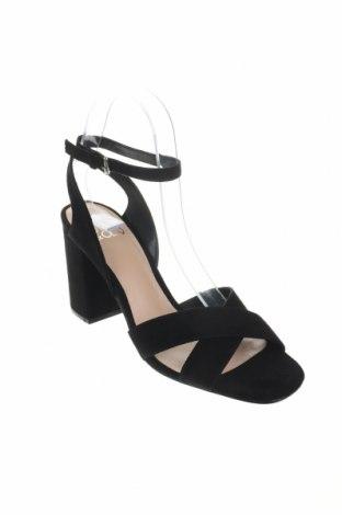 Σανδάλια Even&Odd, Μέγεθος 39, Χρώμα Μαύρο, Κλωστοϋφαντουργικά προϊόντα, Τιμή 16,12€