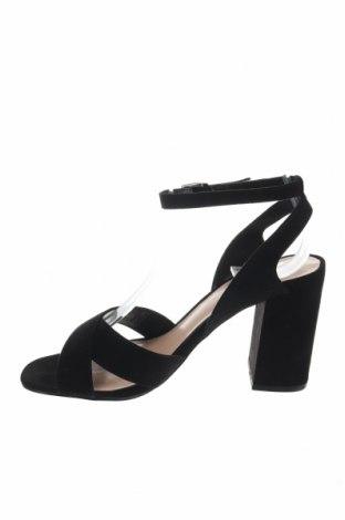 Σανδάλια Even&Odd, Μέγεθος 36, Χρώμα Μαύρο, Κλωστοϋφαντουργικά προϊόντα, Τιμή 16,12€