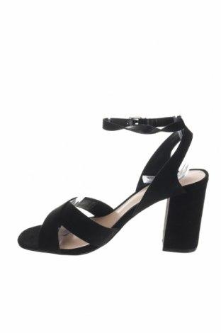 Σανδάλια Even&Odd, Μέγεθος 37, Χρώμα Μαύρο, Κλωστοϋφαντουργικά προϊόντα, Τιμή 16,12€