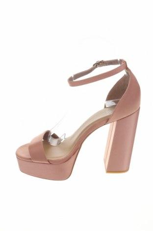 Σανδάλια Even&Odd, Μέγεθος 38, Χρώμα Ρόζ , Κλωστοϋφαντουργικά προϊόντα, Τιμή 17,64€