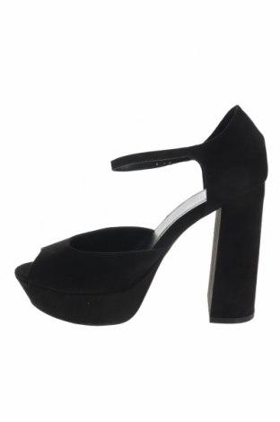Σανδάλια Even&Odd, Μέγεθος 39, Χρώμα Μαύρο, Κλωστοϋφαντουργικά προϊόντα, Τιμή 17,64€