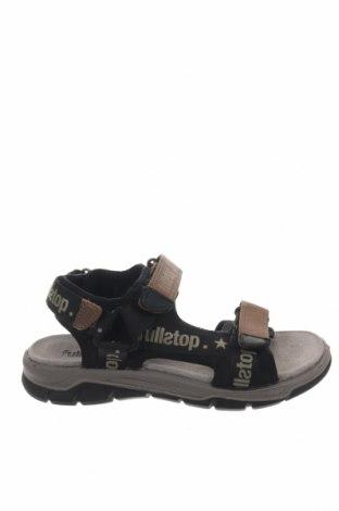Σανδάλια Fullstop., Μέγεθος 31, Χρώμα Μαύρο, Κλωστοϋφαντουργικά προϊόντα, Τιμή 15,91€