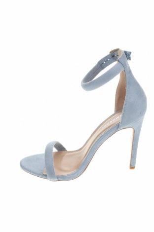 Σανδάλια Glamorous, Μέγεθος 38, Χρώμα Μπλέ, Κλωστοϋφαντουργικά προϊόντα, Τιμή 14,65€