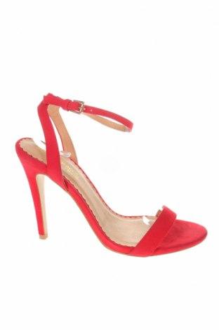Σανδάλια Head Over Heels, Μέγεθος 40, Χρώμα Κόκκινο, Κλωστοϋφαντουργικά προϊόντα, Τιμή 12,78€