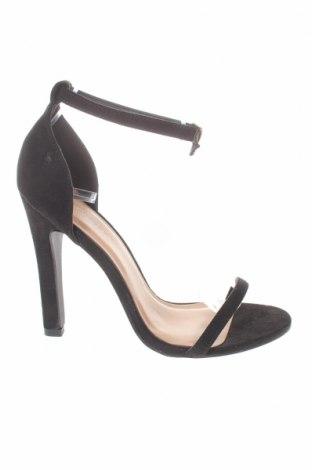 Σανδάλια New Look, Μέγεθος 38, Χρώμα Μαύρο, Κλωστοϋφαντουργικά προϊόντα, Τιμή 16,73€