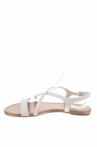 Σανδάλια New Look, Μέγεθος 38, Χρώμα Λευκό, Δερματίνη, Τιμή 16,08€