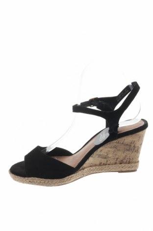 Σανδάλια New Look, Μέγεθος 39, Χρώμα Μαύρο, Κλωστοϋφαντουργικά προϊόντα, Τιμή 19,16€