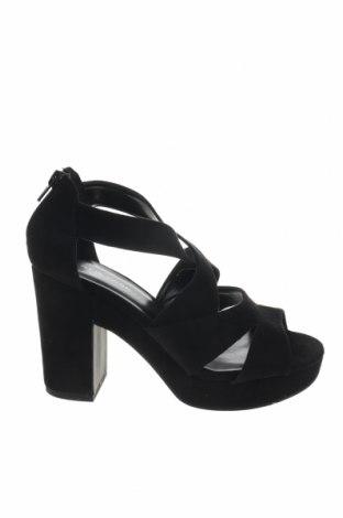 Σανδάλια New Look, Μέγεθος 38, Χρώμα Μαύρο, Κλωστοϋφαντουργικά προϊόντα, Τιμή 20,10€