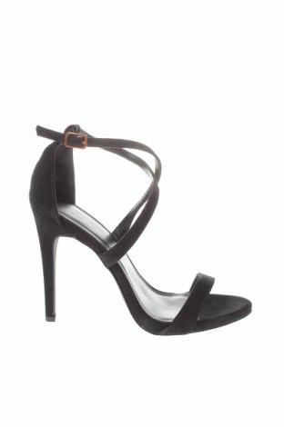 Σανδάλια New Look, Μέγεθος 38, Χρώμα Μαύρο, Κλωστοϋφαντουργικά προϊόντα, Τιμή 18,25€