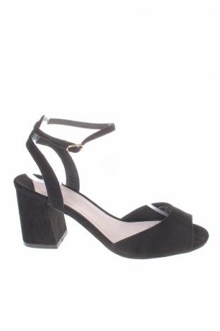 Σανδάλια Faith, Μέγεθος 39, Χρώμα Μαύρο, Κλωστοϋφαντουργικά προϊόντα, Τιμή 10,72€
