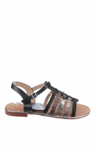 Сандали Nicewalk, Размер 40, Цвят Черен, Еко кожа, Цена 22,36лв.