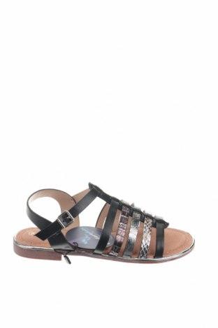 Сандали Nicewalk, Размер 36, Цвят Черен, Еко кожа, Цена 22,36лв.