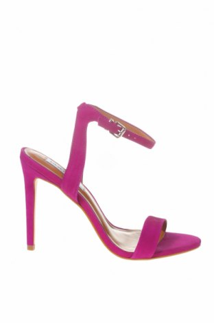 Сандали Steve Madden, Размер 38, Цвят Розов, Естествен велур, Цена 144,00лв.