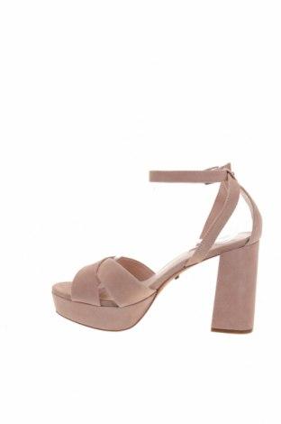 Сандали Topshop, Размер 39, Цвят Розов, Естествена кожа, Цена 39,27лв.