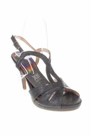Σανδάλια Xti, Μέγεθος 37, Χρώμα Μαύρο, Δερματίνη, Τιμή 17,64€