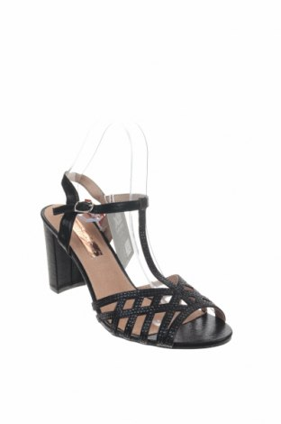 Σανδάλια Xti, Μέγεθος 40, Χρώμα Μαύρο, Κλωστοϋφαντουργικά προϊόντα, Τιμή 21,58€