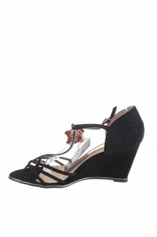 Σανδάλια Xti, Μέγεθος 41, Χρώμα Μαύρο, Κλωστοϋφαντουργικά προϊόντα, Τιμή 22,40€