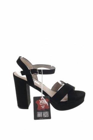 Σανδάλια Xti, Μέγεθος 39, Χρώμα Μαύρο, Κλωστοϋφαντουργικά προϊόντα, Τιμή 18,54€