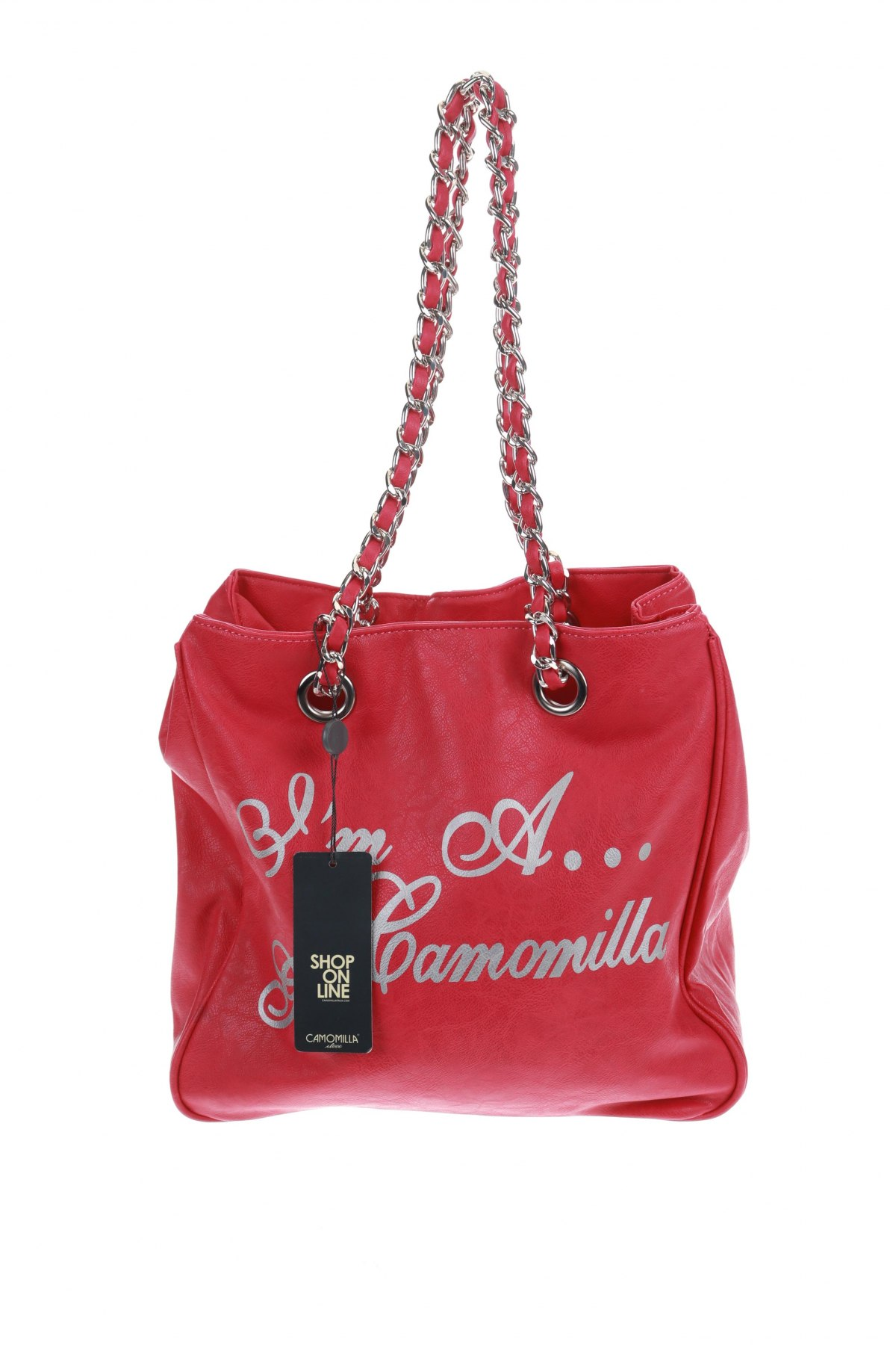 Дамска чанта Camomilla, Цвят Розов, Еко кожа, Цена 46,92лв.