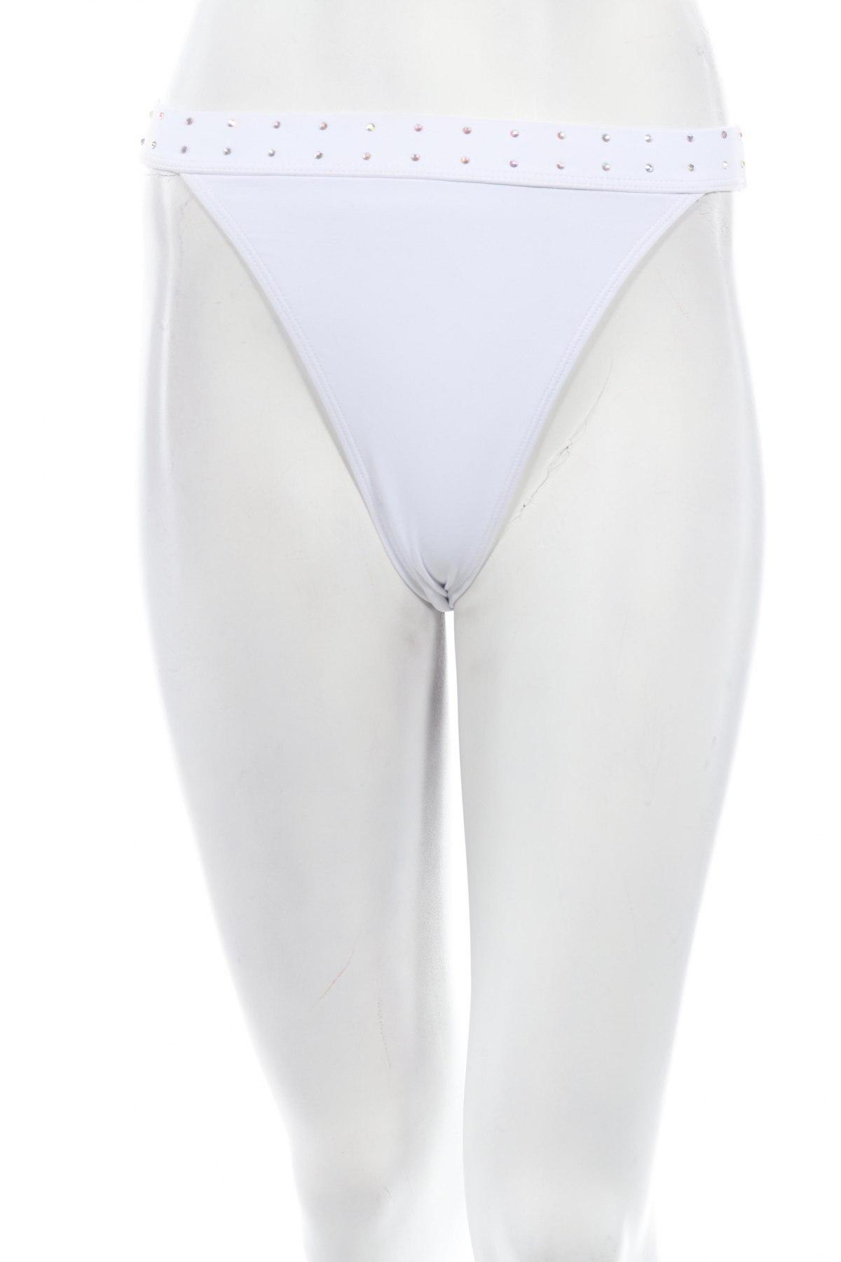 Дамски бански Missguided, Размер S, Цвят Бял, 82% полиамид, 18% еластан, Цена 7,25лв.